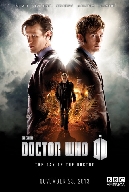STRICTLY EMBARGOED UNTIL 00.01 ON WEDNESDAY 11 SEPTEMBER, 2013 GMT Doctor Who – 50th Anniversary Special - The Day of the Doctor