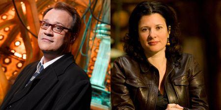 Russel T. Davies et Julie Gardner, les responsables du renouveau triomphal de la série.