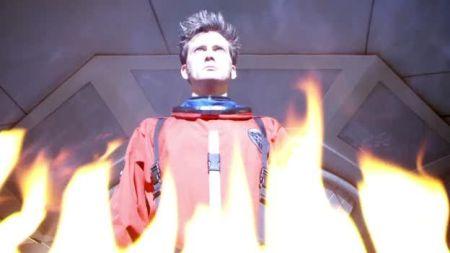 Le Docteur dans toute sa terrible splendeur dans l'épisode special Waters Of Mars