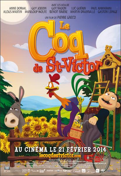 Affiche Le Coq de St-Victor Version C