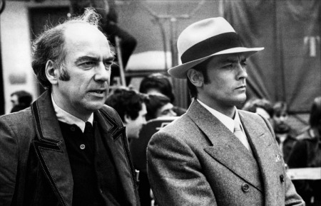 Jacques Deray et Alain Delon