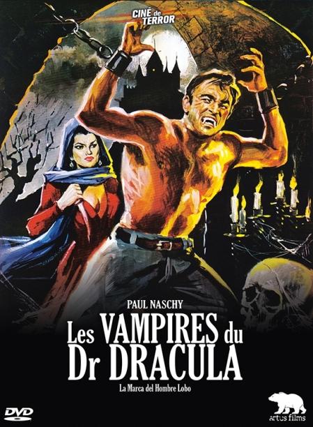 affiche les-vampires-du-dr-dracula-la-marca-del-hombre-lobo-par-tonyo-critique-cinema