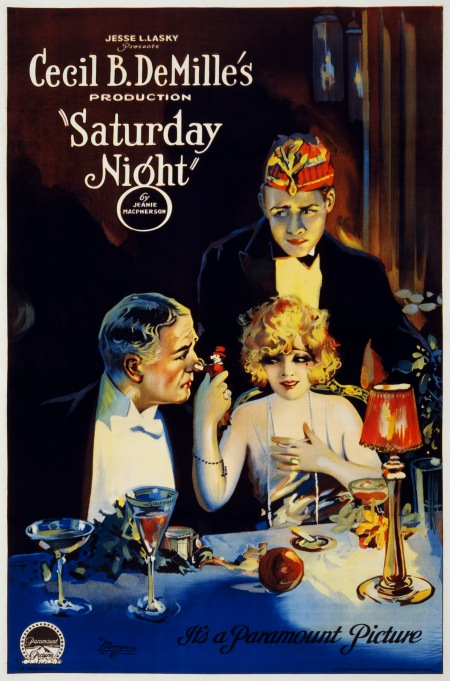Saturday night affiche