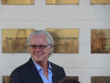 Tim Robbins plaque