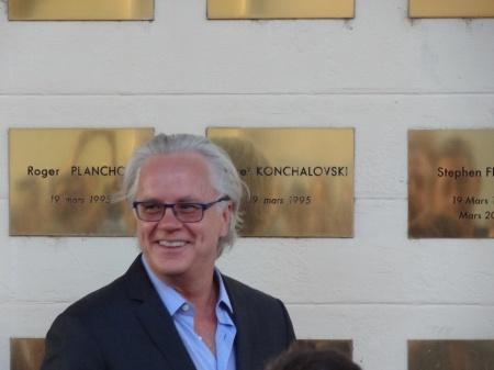 Tim Robbins plaque