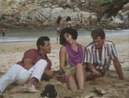 C'est l'amour à la plage entre Maura Monti, Armando Silvestre et Hector Godoy