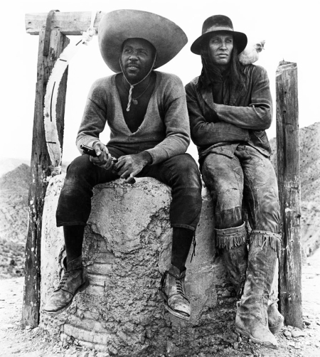 CHARLEY ONE-EYE, Richard Roundtree, Roy Thinnes, 1973