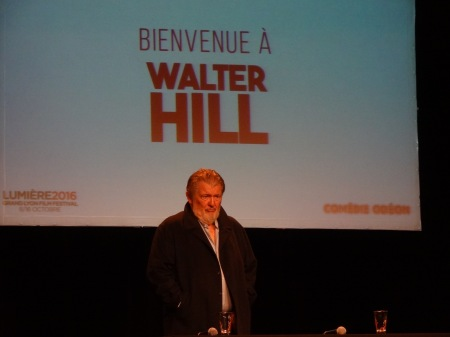Walter Hill à Lyon (Photo JCL)