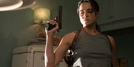 "Michelle Rodriguez dans ""(re)Assignment"""