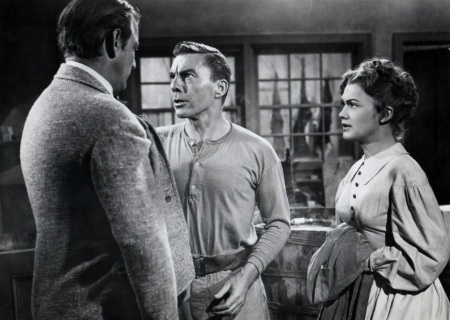 Denver Pyle, David Wayne et Marcia Henderson